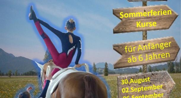 Sommer- Ferien – Kurse 2016
